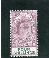 GIBRALTAR 1904-8 * - Gibraltar