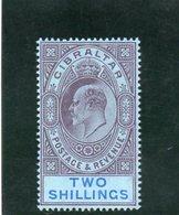 GIBRALTAR 1906-8 ** - Gibraltar
