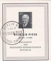 Wilhelm PIECK - Célébrités