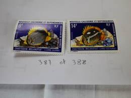 NCE  N° 387 & 388 Neuf - Unclassified