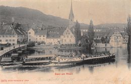 "Stein Am Rhein ""Hohenklingen""  Dampfschiff - Steamboat - Boat -  Barca -Bateau à Vapeur - SH Schaffhouse"