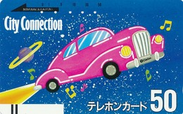 Japan Balken Telefonkarte  * 110-1221 * Japan Front Bar Phonecard - Japan