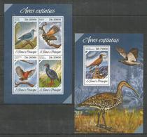 S.TOME E PRINCIPE - MNH - 2013 - Animals - Birds - Birds