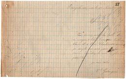 VP15.517 - Lettre Commerciale - Mr GALANGAU à BANYULS - Francia
