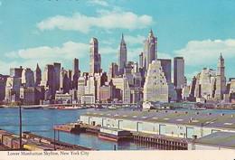 Lower Manhattan Skyline, New York City - Manhattan