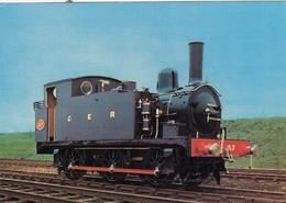 Postcard Tank Locomotive No 87 Great Eastern Railway [ Train ] My Ref  B23705 - Trains