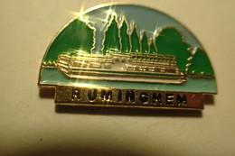 Pin's Pin RUMINGHEM - BATEAU - Bateaux