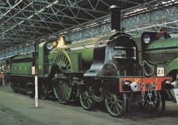 Postcard Steam Locomotive Great Northern Railway [ Train ] My Ref  B23706 - Trains