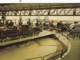 Postcard Steam Locomotive Trains At The National Railway Museum York [ Train ] My Ref  B23707 - Trains
