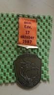 Medaille :Netherlands  -  Pegasus Wandeltocht Gem. Ede - 17-10-1987. / Vintage Medal - Walking Association - Otros