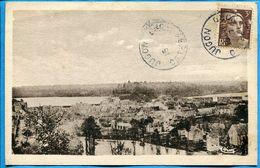 JUGON Une Crue D'Eau Vue Générale - Un Coin De La Bretagne - Carte Sépia Voyagé 1947 ? - Jugon-les-Lacs