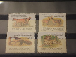 ARGENTINA - 1983 FAUNA 4 VALORI - NUOVI(++) - Argentina