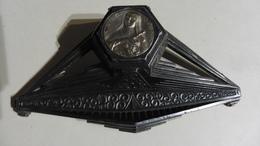 Art & Antiquités > Outils:Encrier :Porte-plume  En Métal Pour Collectionneurs - Tools