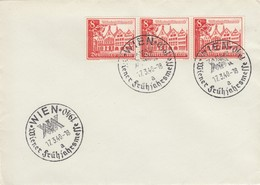 Blanko Sonderstempelbeleg 1940: Wien: Wiener Frühjahrsmesse - Deutschland