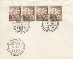 Blanko Sonderstempelbeleg 1939: Köln: 2. Int. Brieftaubenausstellung U. Kongreß - Deutschland