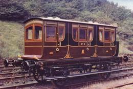 Postcard Royal Coach London And Birmingham Railway Built 1842 For Queen Adelaide [ Train Carriage ] My Ref  B23709 - Trains
