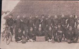 CARTE PHOTO LES APACHES Militaires Du 16e SISSONNE 1907 - Sissonne