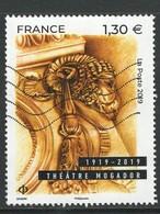 Frankrijk, Yv   Jaar 2019, Hogere Waarde, Gestempeld - Oblitérés
