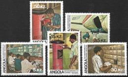 Angola – 1983 National Post Anniversary MNH Set - Angola