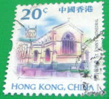 Hong Kong 1999 Landmarks And Tourist Attractions 20c - Used - 1997-... Région Administrative Chinoise