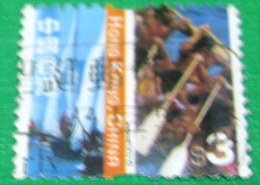 Hong Kong 2002 Cultural Diversity $3 - Used - 1997-... Région Administrative Chinoise