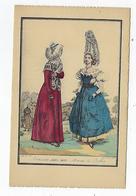 CPA - Folklore - Costumes Des Provinces Françaises - Bolbec - Normandie -1820 à 1830 - Femmes De Bolbec - Bolbec