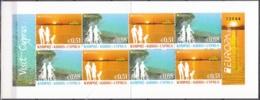 Cyprus 2012 Yvert Carnet 1245 - 1246 Neuf ** Cote (2015) 14.00 Euro Europa CEPT Tourisme - Chypre (République)