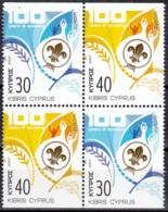 Cyprus 2007 Michel 1096DoDu - 1097DoDu Neuf ** Cote (2015) 7.00 Euro Europa CEPT Le Scoutisme - Chypre (République)