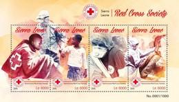 Sierra Leone 2015. [srl15618] Red Cross (s\s+bl) - Cruz Roja