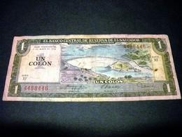 SALVADOR 1 Colon 11.5.1978, Pick N° KM 125 A,EL SALVADOR - El Salvador