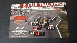 Japan Formula 1 Phone Card Teleca 290-24050 - Japon