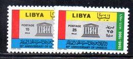 APR2363 - LIBIA 1966 ,  Serie ***  MNH   (2380A)  Unesco - Libia