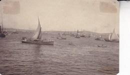 TURQUIE INSTANBUL Le Port Avant 1914 Photo Amateur Format 7,5 X 5,5 Cm Environ - Décès