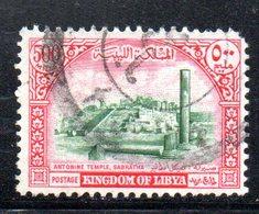 APR2365 - LIBIA 1965 , 500 Mils Monumenti Romani Usato   (2380A) - Libia