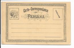 Persien  Postkartenvorläufer Formular  Ca. 1900 - Iran
