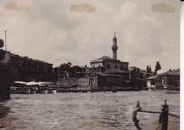 TURQUIE INSTANBUL Avant 1914 Le Port Photo Amateur Format 7,5 X 5,5 Cm Environ - Décès