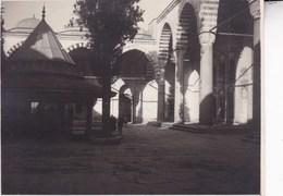 TURQUIE INSTANBUL 1925 Mehmed Fatih ?  Photo Amateur Format 7,5 X 5,5 Cm Environ - Décès
