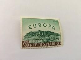 San Marino Europa 1961  Mnh - San Marino