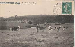 Neuville-du-Bosc : La Vallée De La Gare. - France