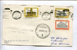 ENVELOPE CIRCULATED FROM ARGENTINA TO ISLAS MALVINAS (FALKLAND ISLANDS) YEAR 1981. DECLARACIÓN CONJUNTA. -LILHU - Islas Malvinas