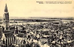 ANTWERPEN - Panoramisch Zicht Op De O. L. Vrouwkerk - Antwerpen
