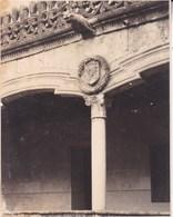 ESPAGNE SALAMANQUE 1949 Casa De Las Conchas  Photo Amateur   Format Environ 7,5 X 5,5 Cm - Esquela