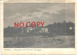 Bazzano, Bologna, 18.7.1939, Panorama Dal Torrente Samoggia, Cm. 15x 11. Ed. E. Gheduzzi. - Bologna