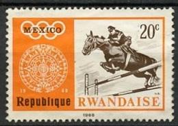 Rwanda - Ruanda 1968 Y&T N°263 - Michel N°282 * - 20c JO De Mexico - Rwanda