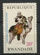 Rwanda - Ruanda 1968 Y&T N°269 - Michel N°288 *** - 30c Targui - Rwanda