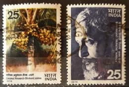 INDIA 1976. 2 SELLOS USADO - USED. - India