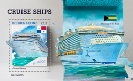 Sierra Leone 2019  Cruise Ships S201907 - Sierra Leone (1961-...)