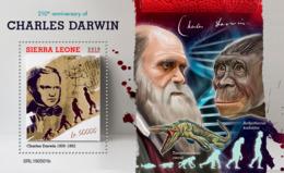 Sierra Leone 2019  Charles Darwin  S201907 - Sierra Leone (1961-...)