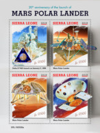 Sierra Leone 2019  Launch Of Mars Polar Lander ,space    S201907 - Sierra Leone (1961-...)