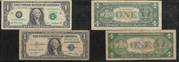 U.S.A., $1, SERIES 9135 E ( SILVER CERTIFICATE), SERIES 2001(FEDERAL RESERVE NOTE)) - Small Size - Petite Taille (1928-...)